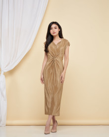 Loire Dress - Champagne