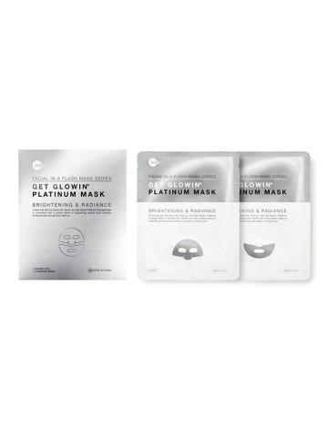Skin Inc Facial In-A-Flash Get Glowin® Platinum Mask image