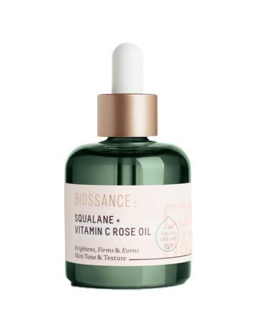Biossance Squalane + Vitamin C Rose Oil image