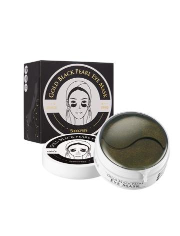 Shangpree Gold Black Pearl Hydrogel Eye Mask image