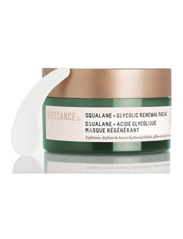 Biossance Squalane + Glycolic Renewal Facial image