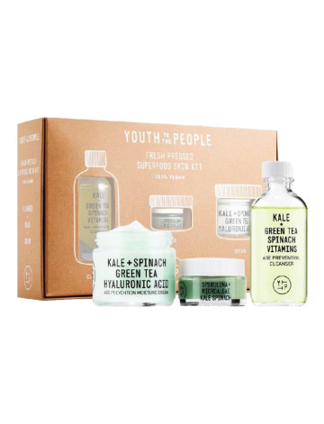 Youth To The People Fresh Pressed Superfood Skin Kit image