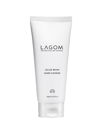 Lagom Cellup Micro Foam Cleanser image