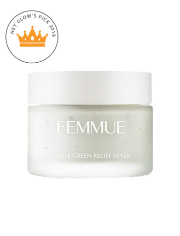Femmue Gentle Green Relief Mask image