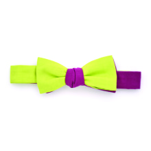 Bowtie CC Purple Green Lime