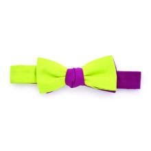 Bowtie CC Purple Green Lime