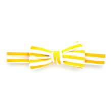 Bowtie Yellow Stripe