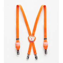 Suspender Orange Bear