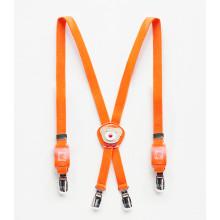 Suspender Orange Bear