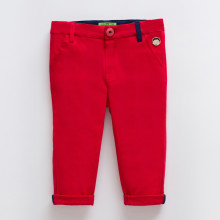 Louis Red Chino Pant