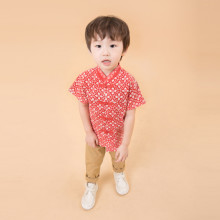 Aki Red Cheongsam Batik