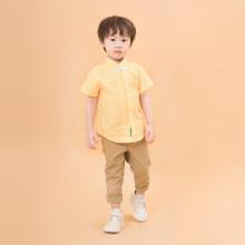 Cael Yellow Cheongsam