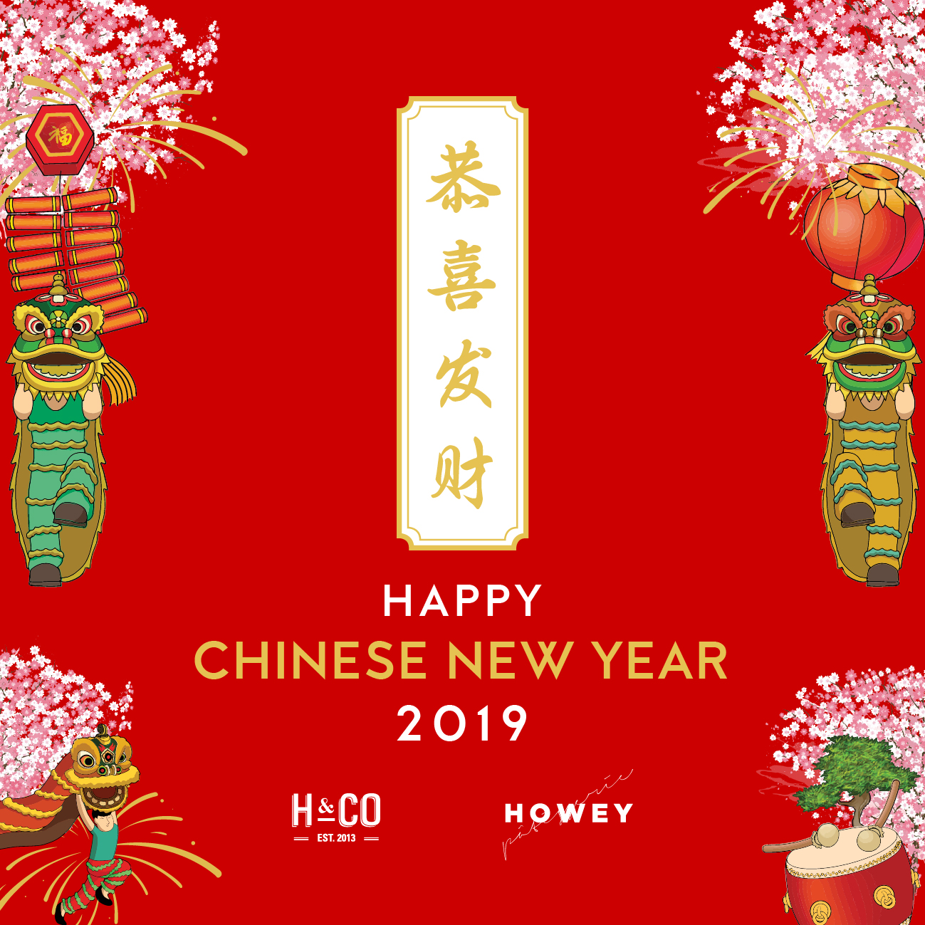 Happy Chinese New Year from H&CO image
