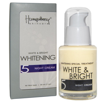"CLEARENCE SALE | Humphrey skin care White & Bright ""Whitening"" Night Cream 30ml"