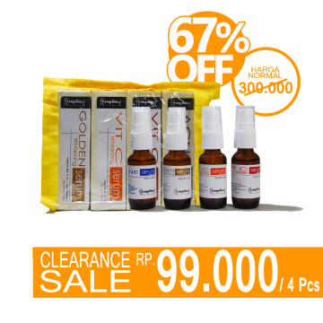 CLEARENCE SALE | Package Serum Extended  - Stock Terbatas