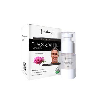 Humphrey Skincare Black & White Hair Serum