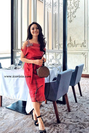 ELLIE DRESS - RED image