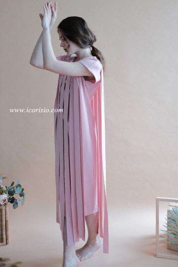 LIT DRESS - BABY PINK image