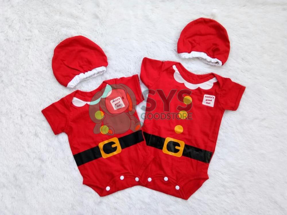 Baju Bayi Natal IYAB Babywear