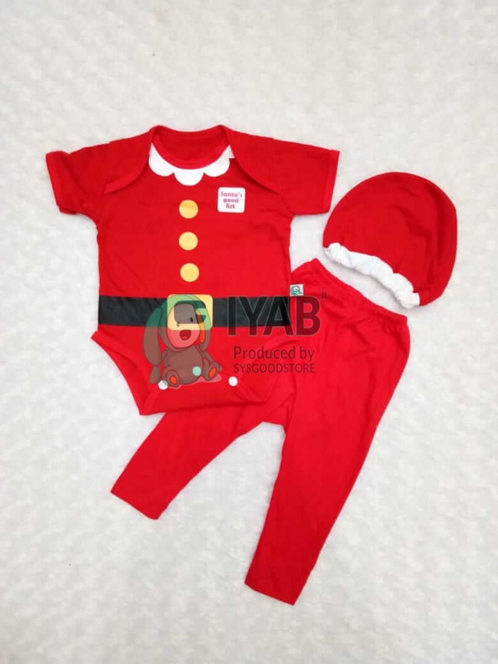 Baju Bayi Santa IYAB Babywear