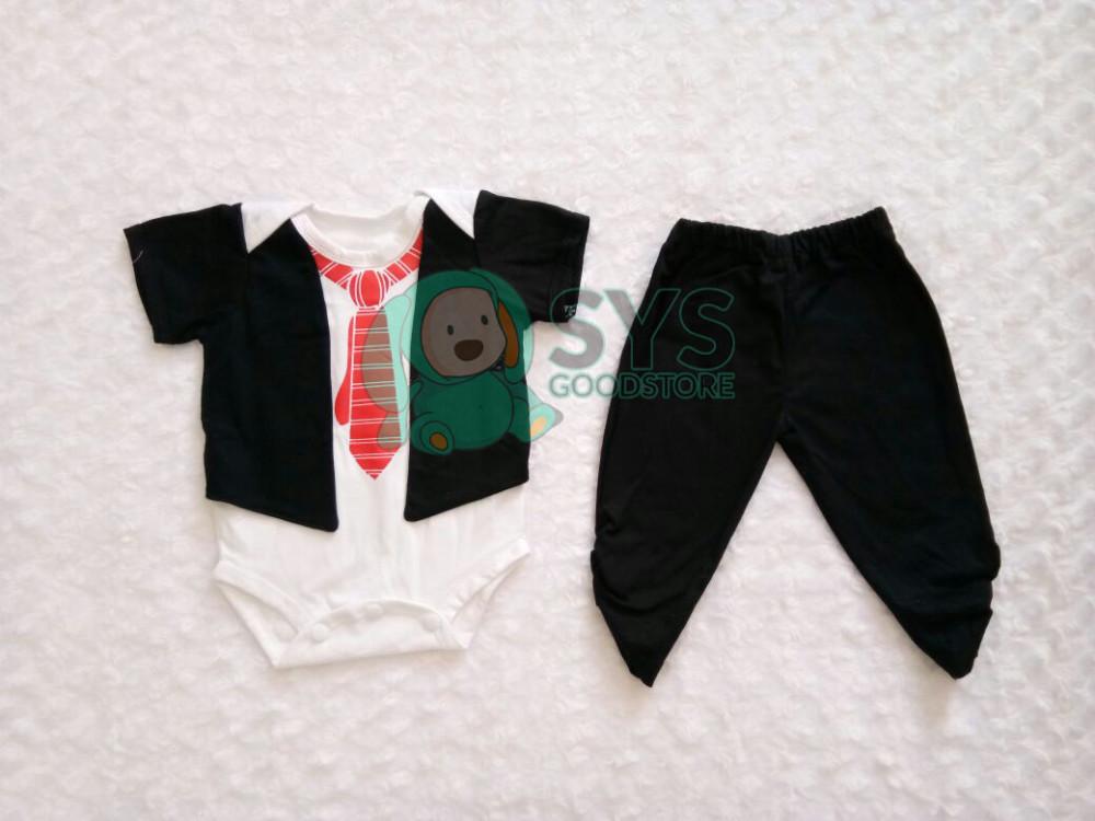 Setelan Baju Bayi Jas IYAB Babywear