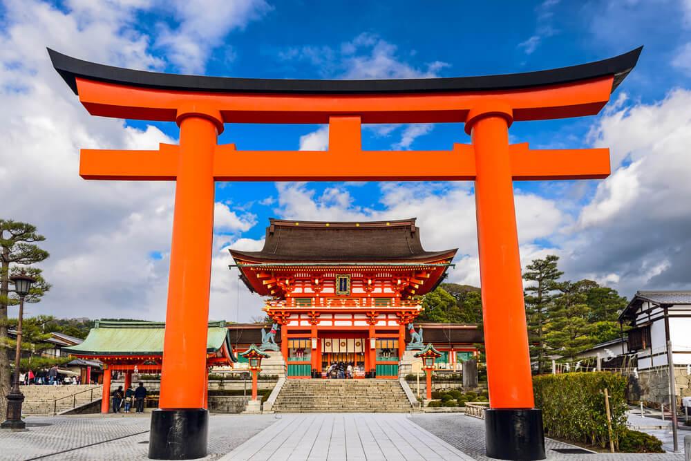 Fushimi Inari Taisha Wisata Kuil Jepang image