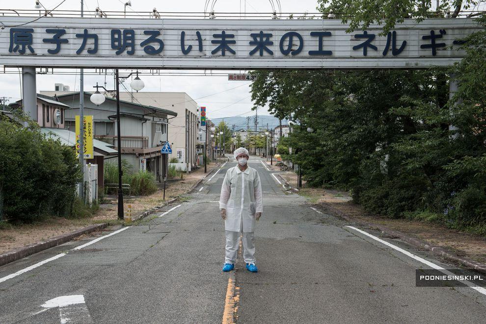 4 Tahun Setelah Tragedi Nuklir: Foto-Foto Fukushima Yang Belum Sembuh Total image