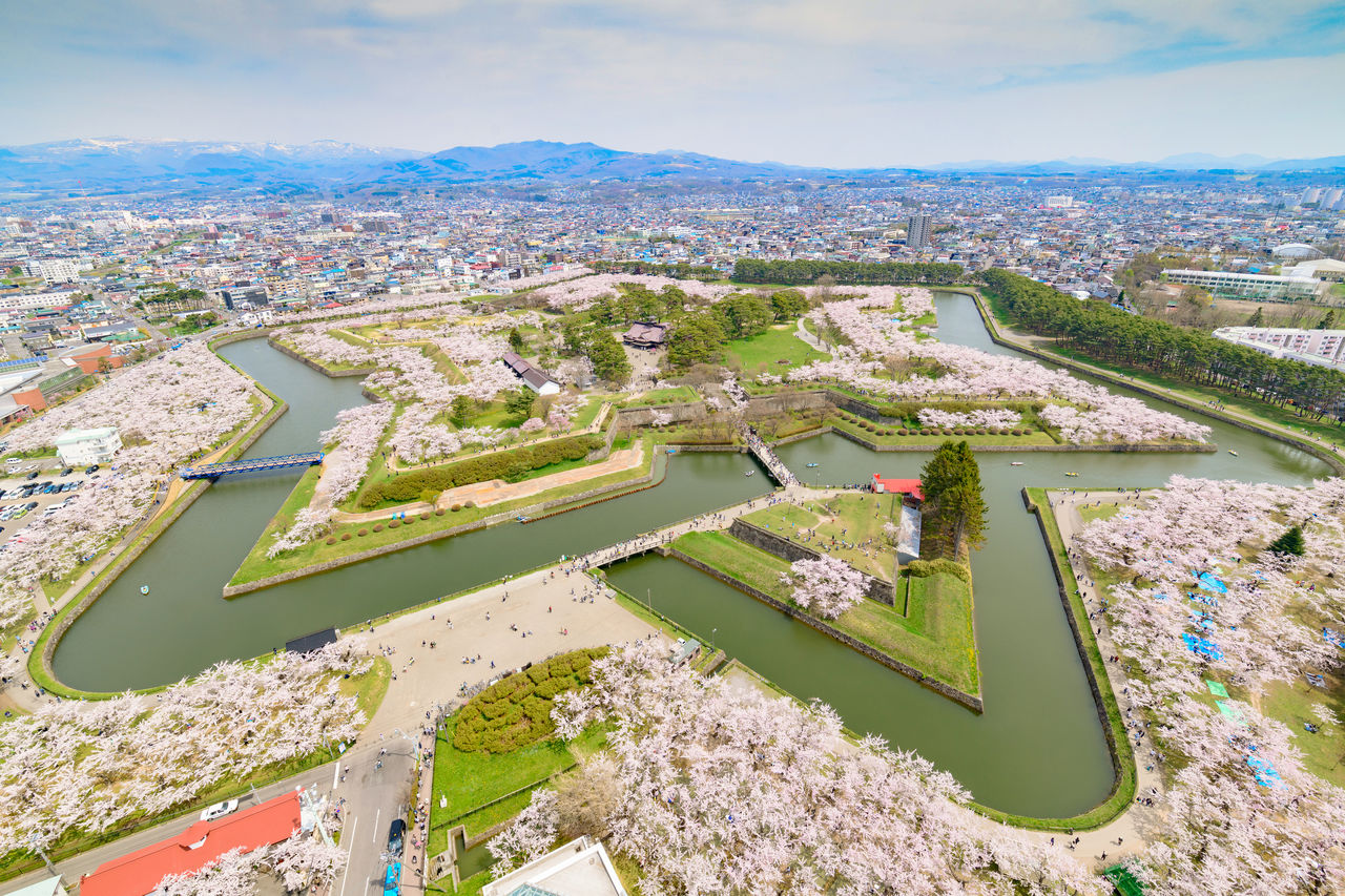 Goryokaku: Benteng Berbentuk Bintang yang Cantik dan Bersejarah image