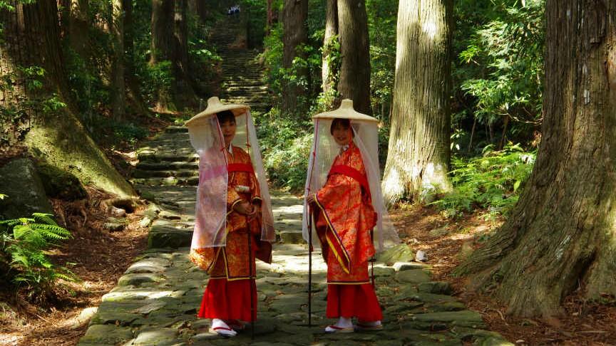 Merasakan Sensasi Jadi Peziarah Bangsawan dengan Kostum Zaman Heian di Rute Kumano Kodo image