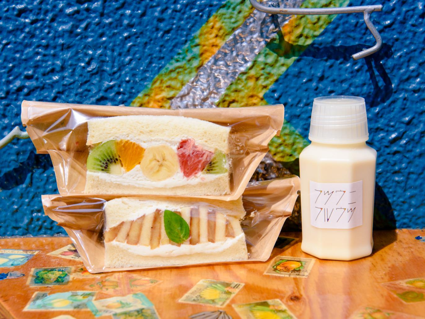 Mencicipi Lezatnya Sandwich Buah Apik dari Futsu ni Fruits image