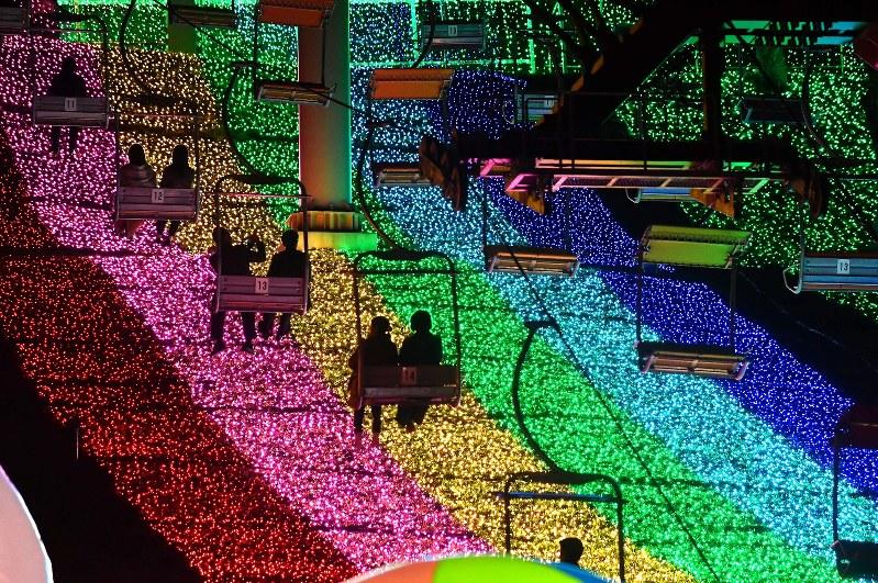 Iluminasi di Sagamiko Illumillion