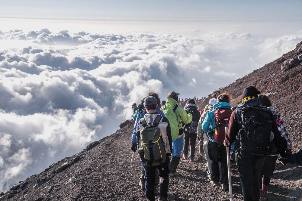 Pendakian Gunung Fuji