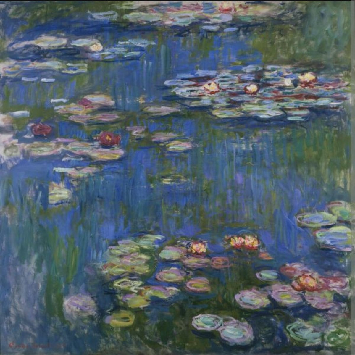 Water Lilies by Claude Monet