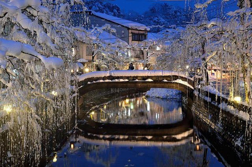 Kinosaki Onsen winter
