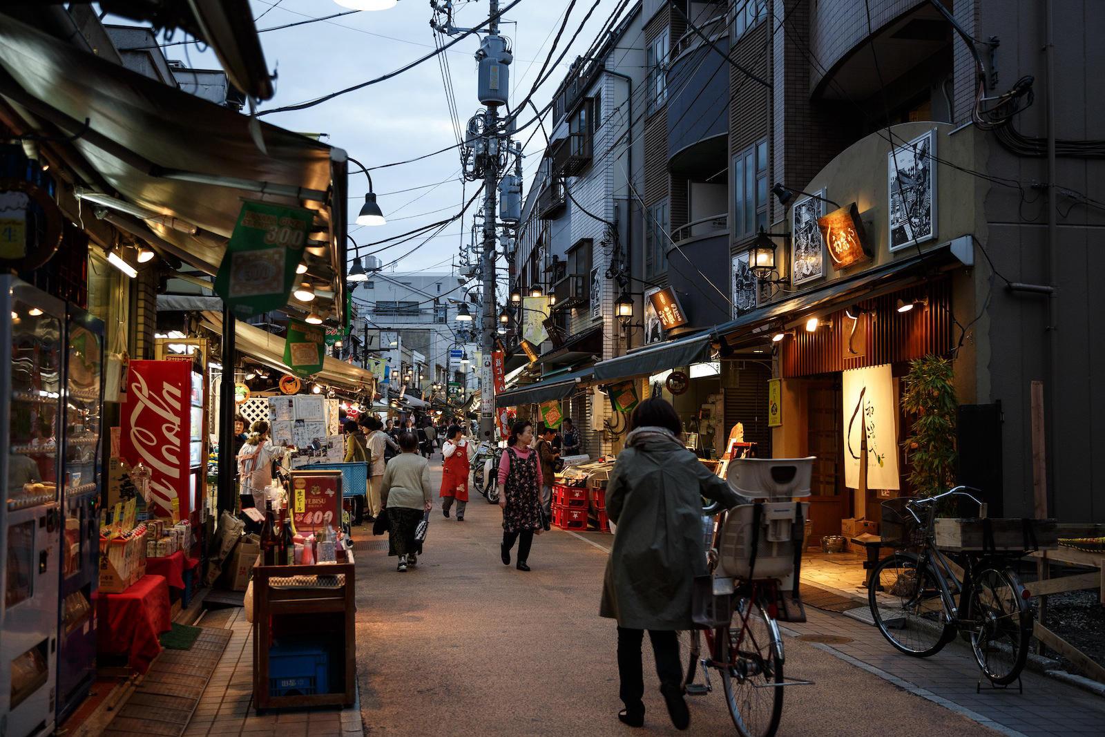 Pembelanjaan Kuno Jepang, Yanaka Ginza