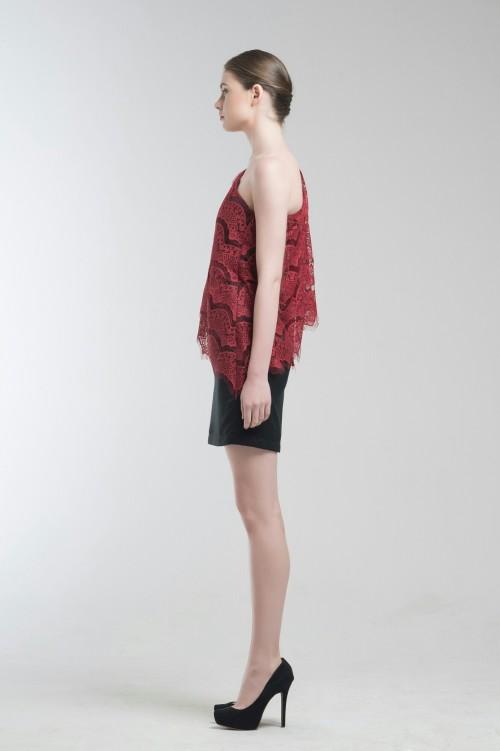 Jade Red Dress