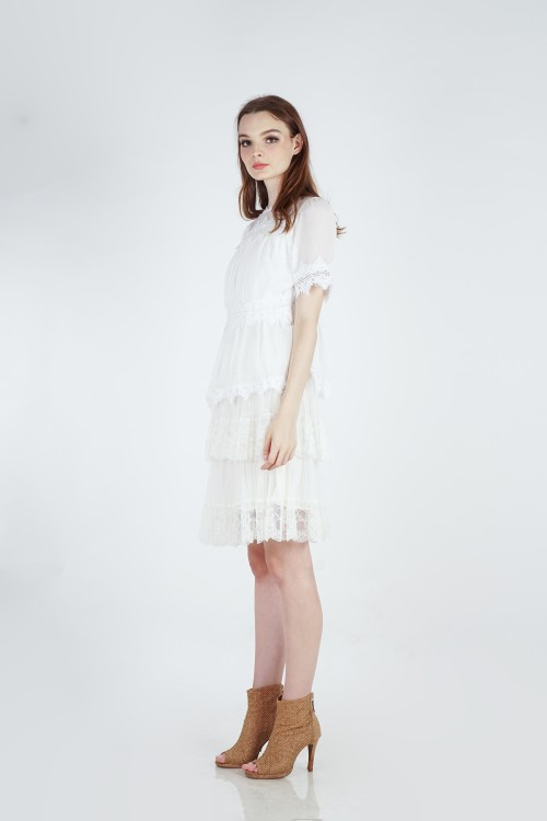 Rovoo Lace Top (White)