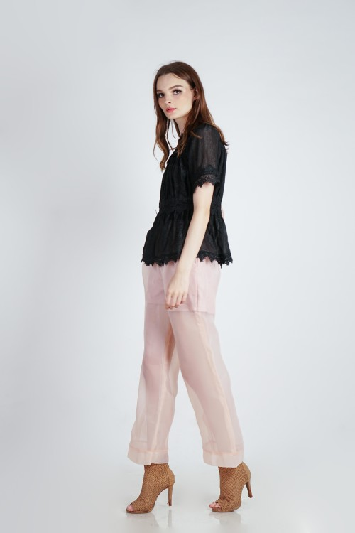 Rovoo Lace Top (Black)
