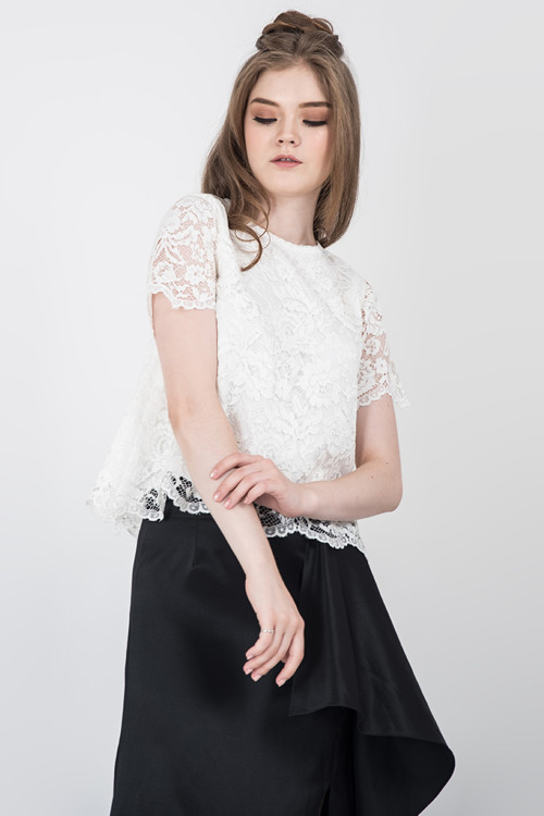 Breya Lace Top
