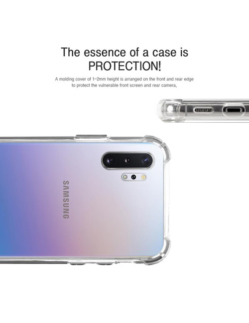 Goospery - Super Protect Case for Samsung Galaxy Note 10 Plus - Clear