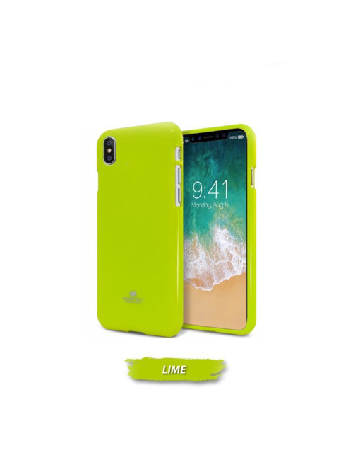 Goospery - Pearl Jelly Case for iPhone XR - Yellow