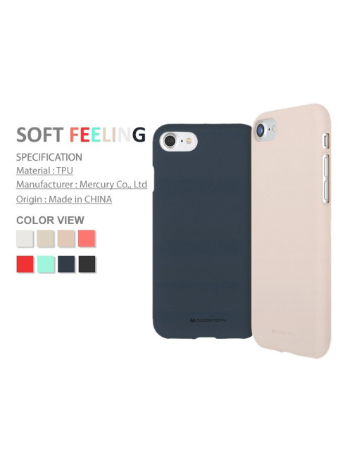 Goospery - Soft Feeling Jelly Case for iPhone XR - Flamingo