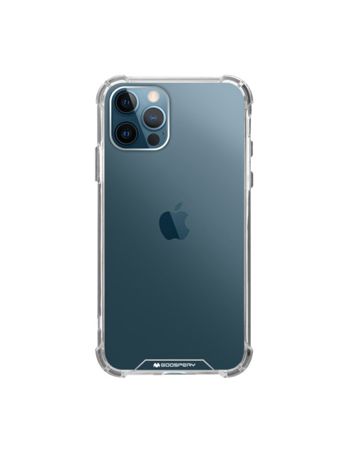 Goospery - Super Protect Case for iPhone 12 6.1 & iPhone 12 Pro 6.1 - Clear
