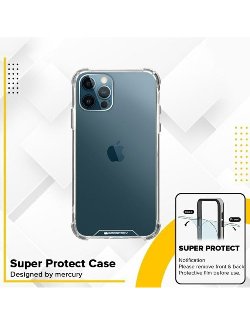 Goospery - Super Protect Case for iPhone 12 Mini 5.4 - Clear