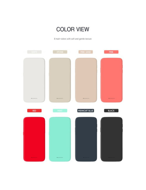 Goospery - Soft Feeling Jelly Case for iPhone 12 Pro Max 6.7 - Black