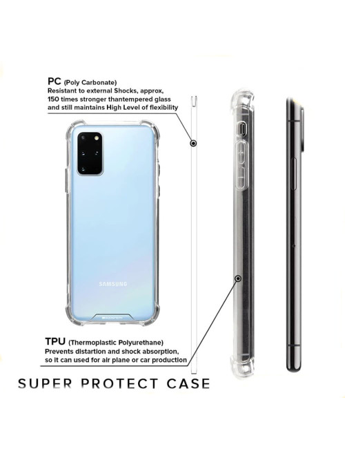 Goospery - Super Protect Case for Samsung Galaxy S20 G980 G981 - Clear