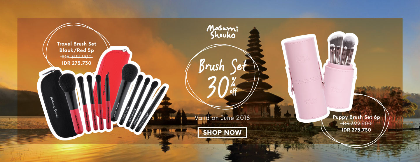 Brush Set 30% OFF