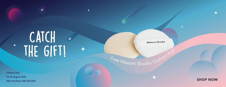 Free Masami Shouko Cushion Puff
