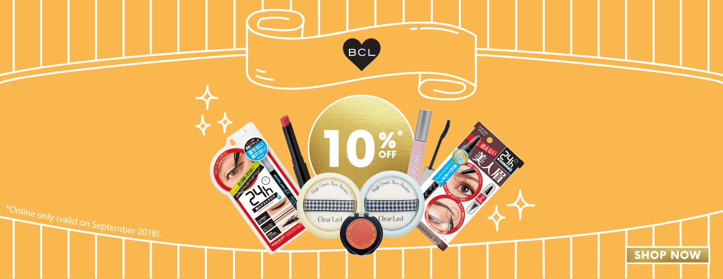 BCL 10% OFF