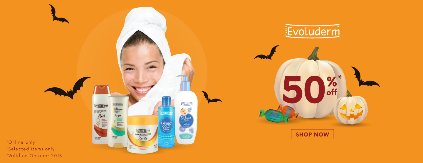 EVOLUDERM: 50% Selected items